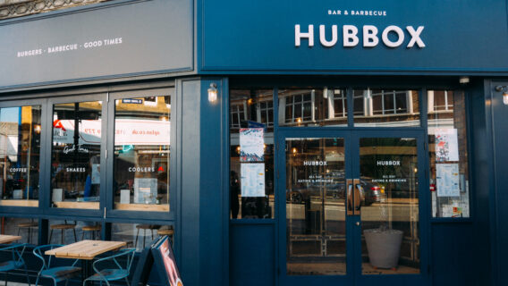 HubBox Taunton Exterior